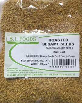 Roasted seasame seeds